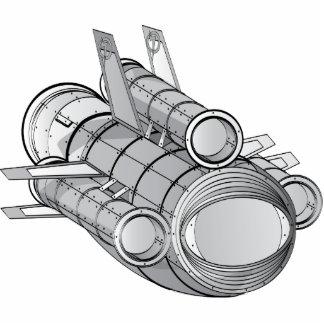 Ejemplo técnico de SpaceFleet Fotoescultura Vertical