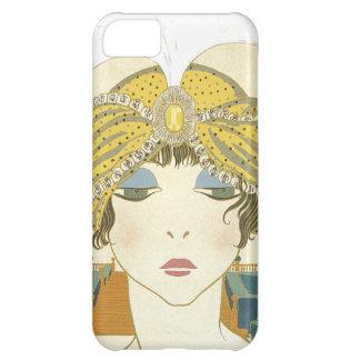 Ejemplo Turbaned de la moda de los 1900s de Poiret Carcasa iPhone 5C