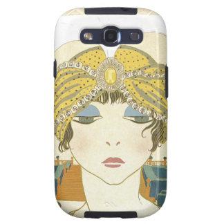 Ejemplo Turbaned de la moda de los 1900s de Poiret Funda Para Galaxy S3