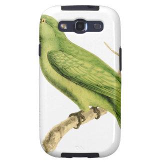 Ejemplo verde del pájaro del loro de William Swain Samsung Galaxy SIII Funda