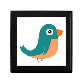 Ejemplo verde lindo de la animación del pájaro