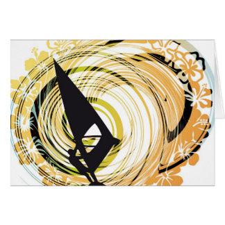 Ejemplo Windsurfing Tarjeta De Felicitación