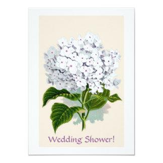 Ejemplos blancos de Botanicals del vintage del Invitación 11,4 X 15,8 Cm