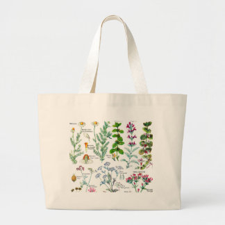 Ejemplos botánicos - plantas de Larousse Bolsa Tela Grande