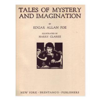 Ejemplos de Edgar Allan Poe de Clarke Tarjeta Postal