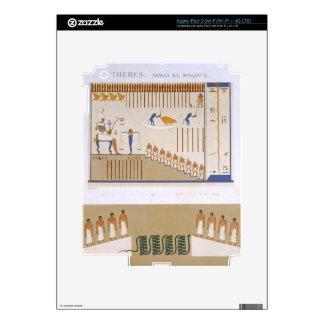 Ejemplos de frescos del EL Molouk de Byban, Pegatina Skin Para iPad 3