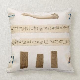 Ejemplos de Hieroglyphics y el brazo de MU Almohadas