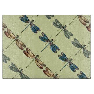 Ejemplos de la libélula tablas para cortar