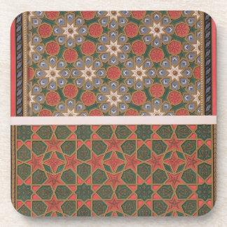 Ejemplos de las decoraciones del techo del arte posavaso