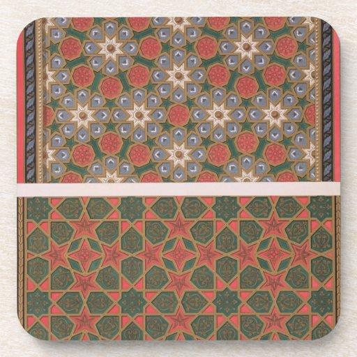 Ejemplos de las decoraciones del techo, del 'arte  posavaso