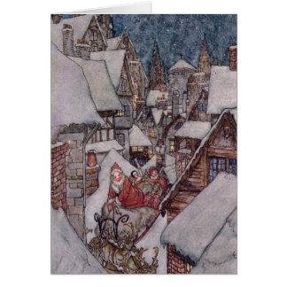 Ejemplos del navidad tarjeta de felicitación