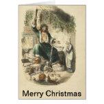 Ejemplos del vintage del villancico del navidad tarjetas