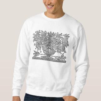 Ejemplos florales antiguos que ofrecen grifos jersey