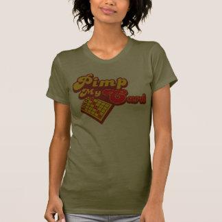 Ejerce de chulo mi bingo de la tarjeta camisetas