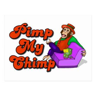Ejerce de chulo mi chimpancé postales