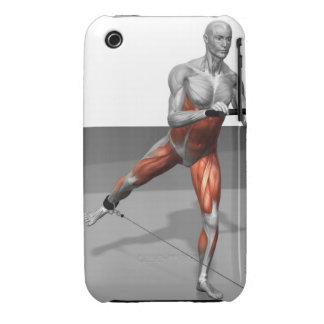 Ejercicio 2 del patinador del cable iPhone 3 cárcasas