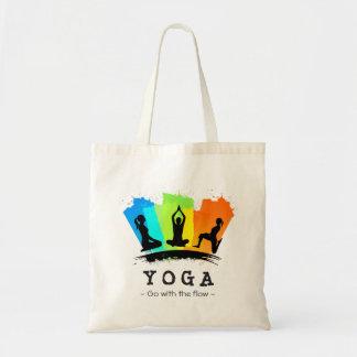 Ejercicio elegante y colorido de la YOGA de Bolsa Tela Barata