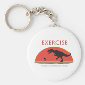 Ejercicio - motivación apropiada llavero redondo tipo pin