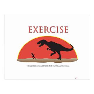 Ejercicio - motivación apropiada postal