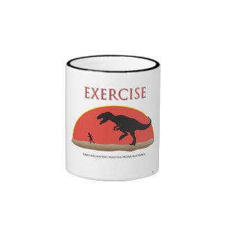Ejercicio - motivación apropiada taza de dos colores