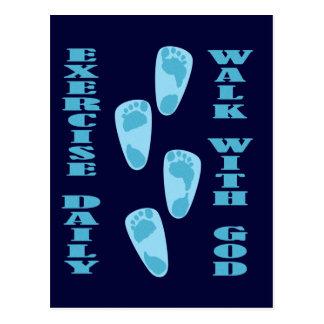 Ejercicio - paseo con dios 11 28 de Matt - 30 dia Tarjetas Postales