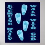 Ejercicio - paseo con dios (11:28 de Matt - 30 Posters
