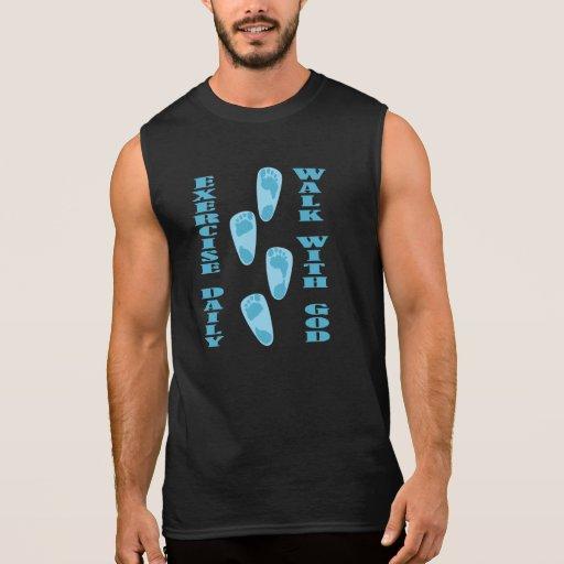 Ejercicio - paseo con dios (11:28 de Matt - 30 Camisetas Sin Mangas