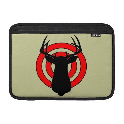 Ejercicios de tiro de la caza de los ciervos fundas MacBook