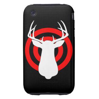 Ejercicios de tiro de la caza de los ciervos iPhone 3 tough cobertura