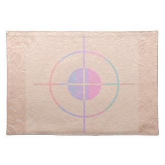 Ejercicios de tiro: De seda grabada en relieve chi Manteles