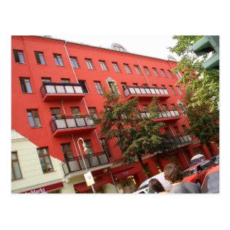 ejercido de chulo - arquitectura de Berlín Tarjetas Postales