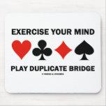Ejercite su puente del duplicado del juego de la m tapetes de ratón