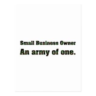 Ejército 2 de la pequeña empresa postal