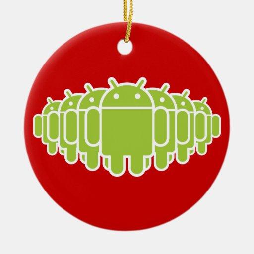 Ejército androide adornos