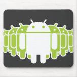 Ejército androide alfombrilla de raton