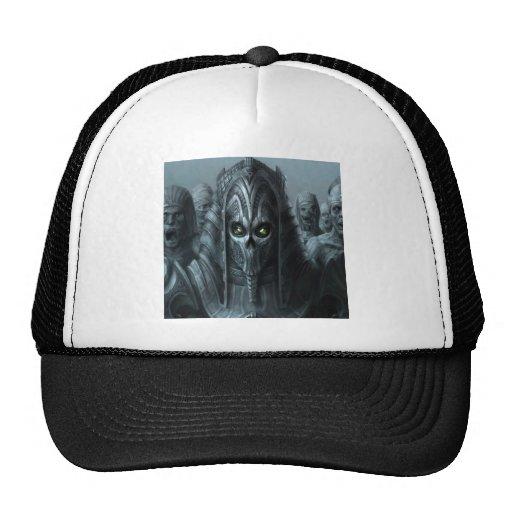 Ejército azteca del zombi del horror abstracto gorras