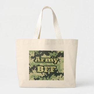 Ejército BFF Bolsa Tela Grande