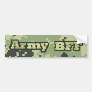 Ejército BFF Pegatina De Parachoque