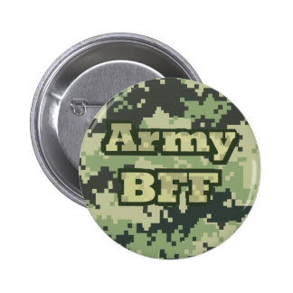 Ejército BFF Pin Redondo De 2 Pulgadas