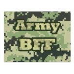 Ejército BFF Tarjetas Postales