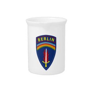 Ejército - brigada de Europa - de Berlín Jarra De Beber