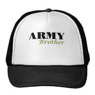 Ejército Brother (cursivo) Gorras De Camionero