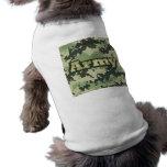 Ejército Camisetas De Mascota