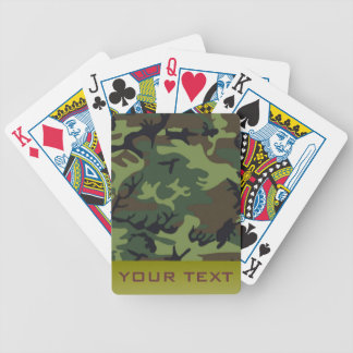 Ejército Camo Cartas De Juego