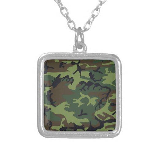 Ejército Camo Collar Personalizado