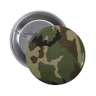 Ejército Camo Pin Redondo De 2 Pulgadas