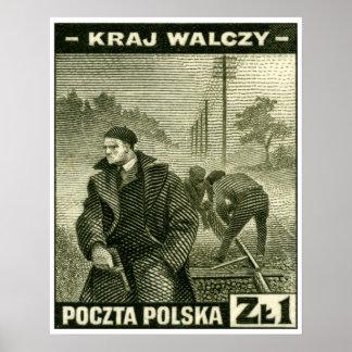 Ejército casero polaco de WWII Impresiones