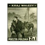 Ejército casero polaco de WWII Postal