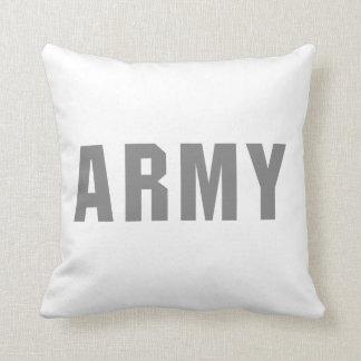 ejército cojin