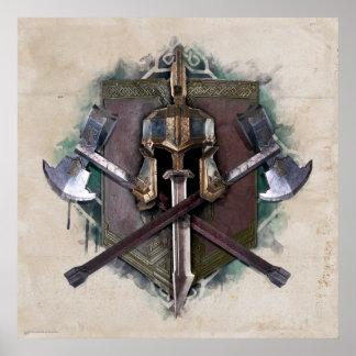 Ejército de armamento de los enanos póster